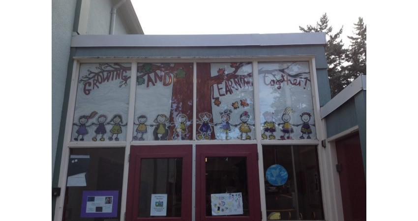 Front Entrance Mural – artist Andrea Frost