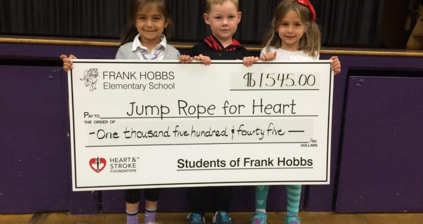 Jump Rope for Heart Donations