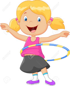 42412827-Cute-girl-cartoon-twirling-hula-hoop-Stock-Vector