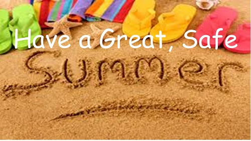 Happy Summer Vacation!!  First day back for Grade 1-5 is Tuesday, September 4th 9:00am – 11:30 am